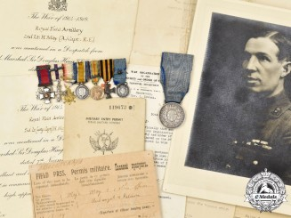 United Kingdom. The Miniature Awards of Major Harry May, DSO, MC, Royal Field Artillery