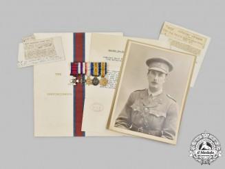United Kingdom. The Miniature Awards of Major John Salisbury Gemmell, DSO, MC