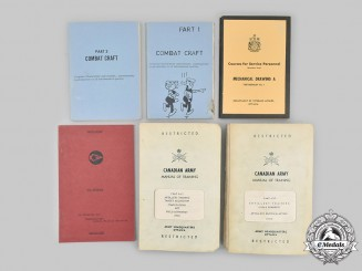 Canada. A Lot of Six Canadian Army Publications