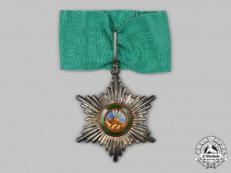 Iran, Pahlavi Dynasty. An Order of the Lion and Sun, III Commander, c.1910