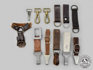Germany, Third Reich. A Mixed Lot of Dagger Hanger Accessories