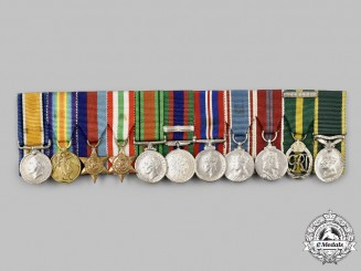 Canada, CEF. The Miniature Awards of Lieutenant-Colonel William Southward Coolin, ED