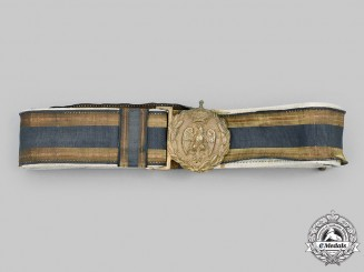 Italy, Kingdom. An Army Officer's Belt, c.1935