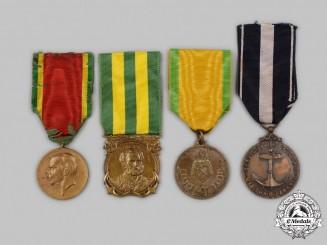 Brazil, Federative Republic. Four Medals & Awards