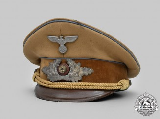 Germany, NSDAP. An Orts-Level Political Leader's Visor Cap