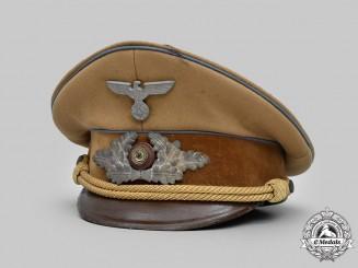 Germany, NSDAP. An Orts-Level Political Leader's Visor Cap