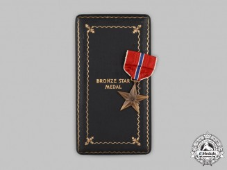 United States. A Bronze Star Medal, to Lieutenant A.S. Kosa, Cased, c.1945