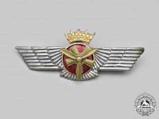 Spain, Fascist State. An Air Force (SAF) Flight Mechanic Badge, c.1943