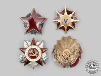 Romania, Russia, Yugoslavia. A Lot of Four Socialist Awards