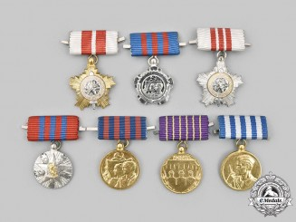 Yugoslavia, Socialist Federal Republic. A Lot of Seven Miniature Awards