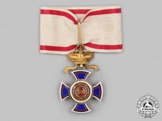 Montenegro, Kingdom. An Order of Danilo I, III Class Commander, c.1900