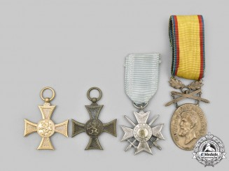 Bulgaria, Kingdom; Romania, Kingdom. A Lot of Four Awards