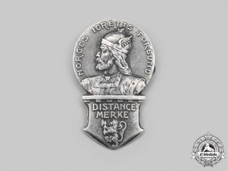 Norway, Kingdom. A 1923 Silver Sports Badge to H. Semeleng