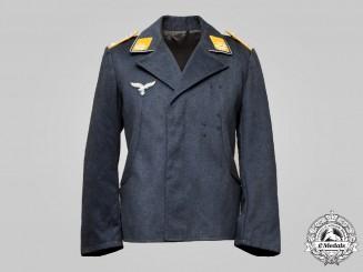 Germany, Luftwaffe. A Flight Personnel Oberleutnant Service Blouse, by Klara Krappen