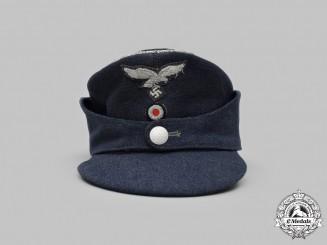 Germany, Luftwaffe. An Officer's Single-Button M43 Field Cap