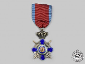 Romania, Kingdom. An Order of the Star, V Class Knight, Military Division,c.1940