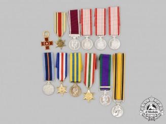 United Kingdom, Canada. A Lot of Twelve Miniature Awards