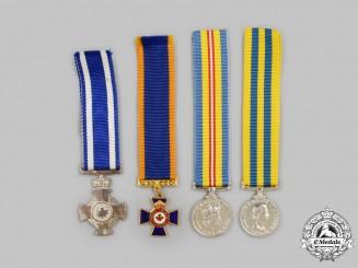 Canada. A Lot of Four Miniature Awards