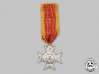 Schaumburg-Lippe, Principality. A Princely House Order, Silver Merit Cross, c. 1918