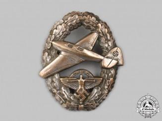 Germany, NSFK. A Rare Motor Pilot's Badge, Type II