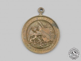 Baden, Grand Duchy. A Grand Duke Friedrich I 50th Jubilee Medal, c.1902