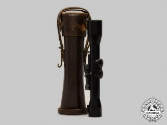 Germany, DDR. A ZF4/S Rifle Scope, with Case, by Carl Zeiss