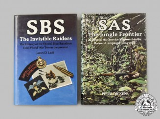 United Kingdom. Two Special Forces Books - SAS & SBS