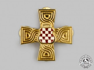 Croatia, Republic. A War Memorial Cross 1992-1995
