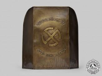 Germany, NSDAP. A Winterhilfswerk Donation Podium