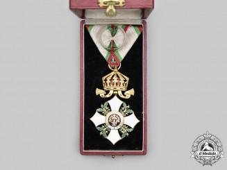 Bulgaria, Kingdom. A National Order for Civil Merit, IV Class Officer