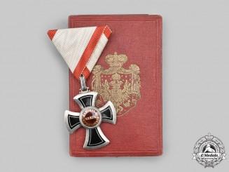Montenegro, Kingdom. An Order of Danilo I, V Class Knight, c.1900