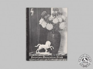 Germany, SS. A 1938/39 SS Allach Porcelain Catalogue