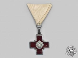 Serbia, Kingdom. A Cross of the Serbian Red Cross Society, c.1900
