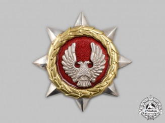 Yugoslavia, Federal Republic. An Order of Bravery, c.1990
