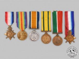 United Kingdom, Canada. Six First War Awards