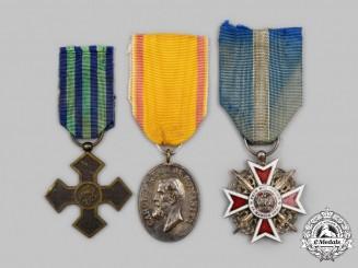 Romania, Kingdom. A Lot of Three Awards & Decorations