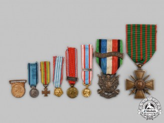 France, III Republic. A Lot of Eight Medals & Awards
