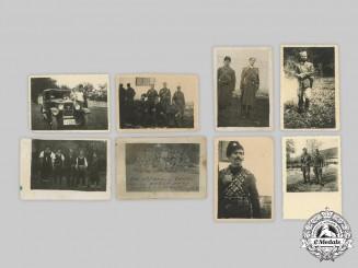 Yugoslavia, Serbia. Eight Second War Chetnik Photographs