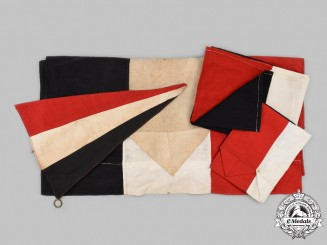 Germany, Imperial. A Lot of Patriotic Flags