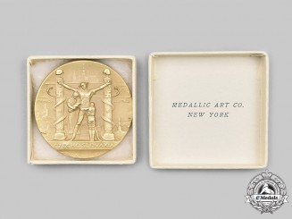 Czechoslovakia, Republic. A 1939 Czechoslovakia Shall Be Free Again Medal by Medallic Art Co. N.Y.