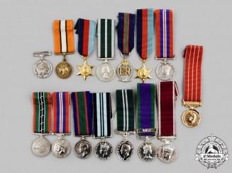 United Kingdom, Canada, International. A Lot of Fifteen Miniature Awards