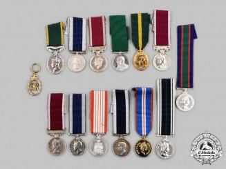 United Kingdom, Canada. A Lot of Fourteen Miniature Awards