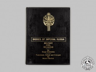 Russia, Imperial. Badges of Imperial Russia: Military, Civil, Religious