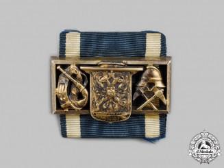 Schwarzburg-Sonderhausen, Principality. A Rare Fire Brigade Long Service Clasp