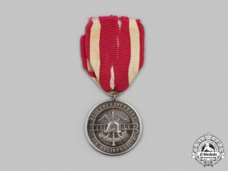 Germany. A Rhine Province Fire Brigade 25-Year Long Service Medal