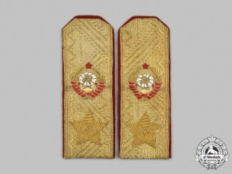 Russia, Soviet Union. A Marshal of the Soviet Union Parade Shoulder Board Pair, c. 1944