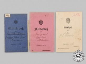 Germany, Imperial. A Lot of Militärpäße