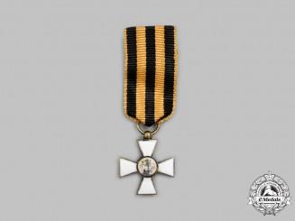 "Russia, Imperial. An Order of St. George, Miniature ""Émigré"" Version, c.1925"