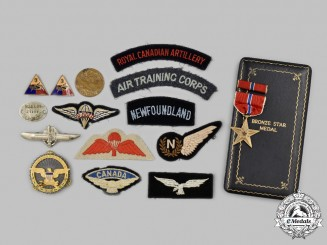 United States, Canada. A Lot of Awards & Insignia
