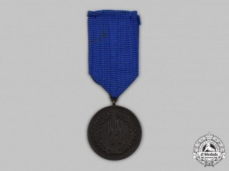 Germany, SS. A SS Long Service Medal, IV Class for 4 Years
